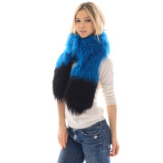 No Guilt Fur Faux Mongolian lamb Scarf